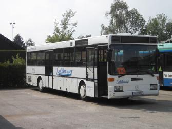 Auch ein Teil der Nahverkehrsbusse ist mit FB 4000 ausgerüstet