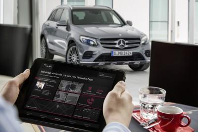 GLC Konnektivität, connect me Dienste, Copyright (C) Daimler